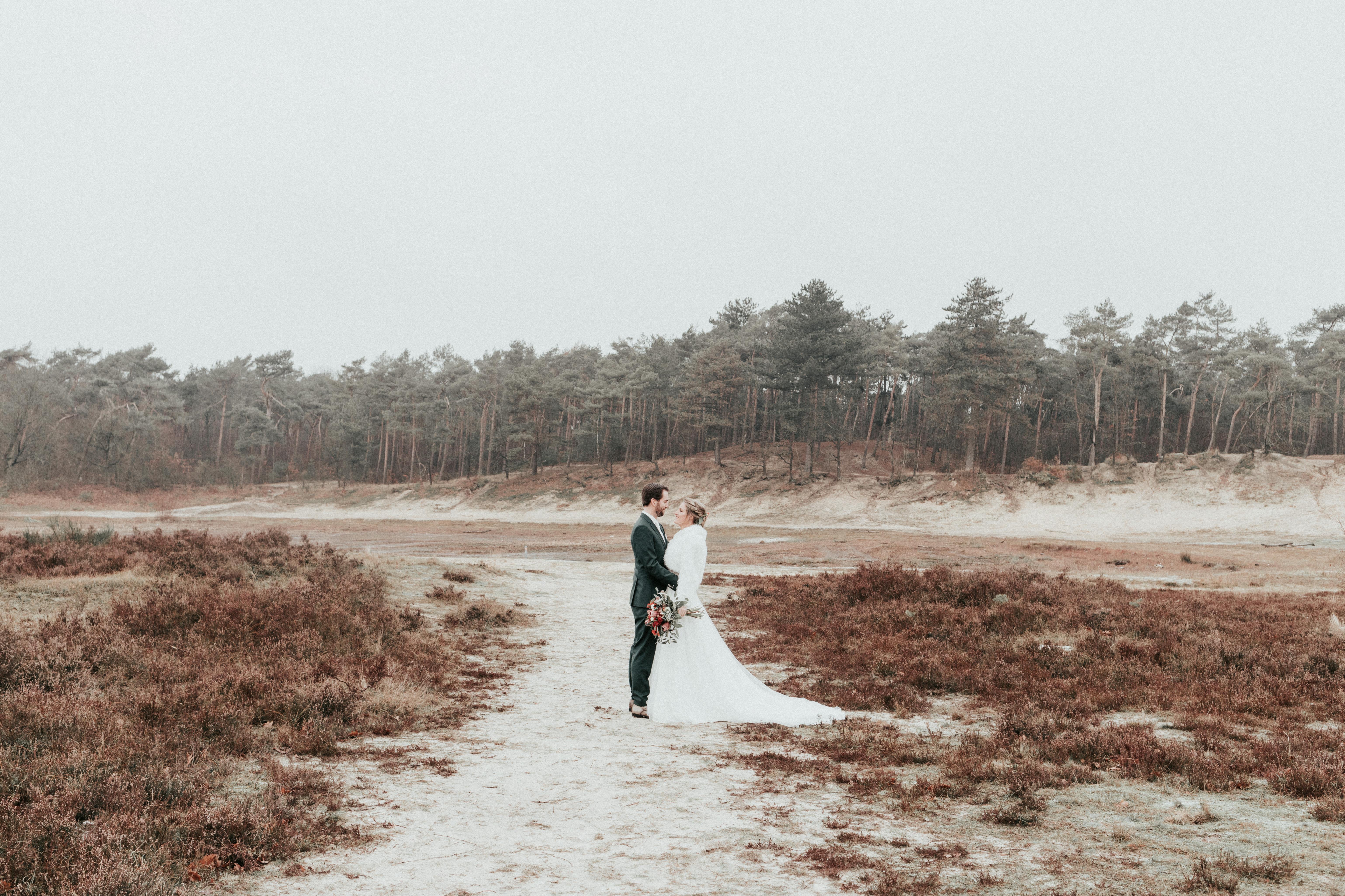 trouwen op de heide